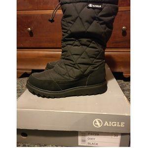 Aigle Dixy Boot - Black